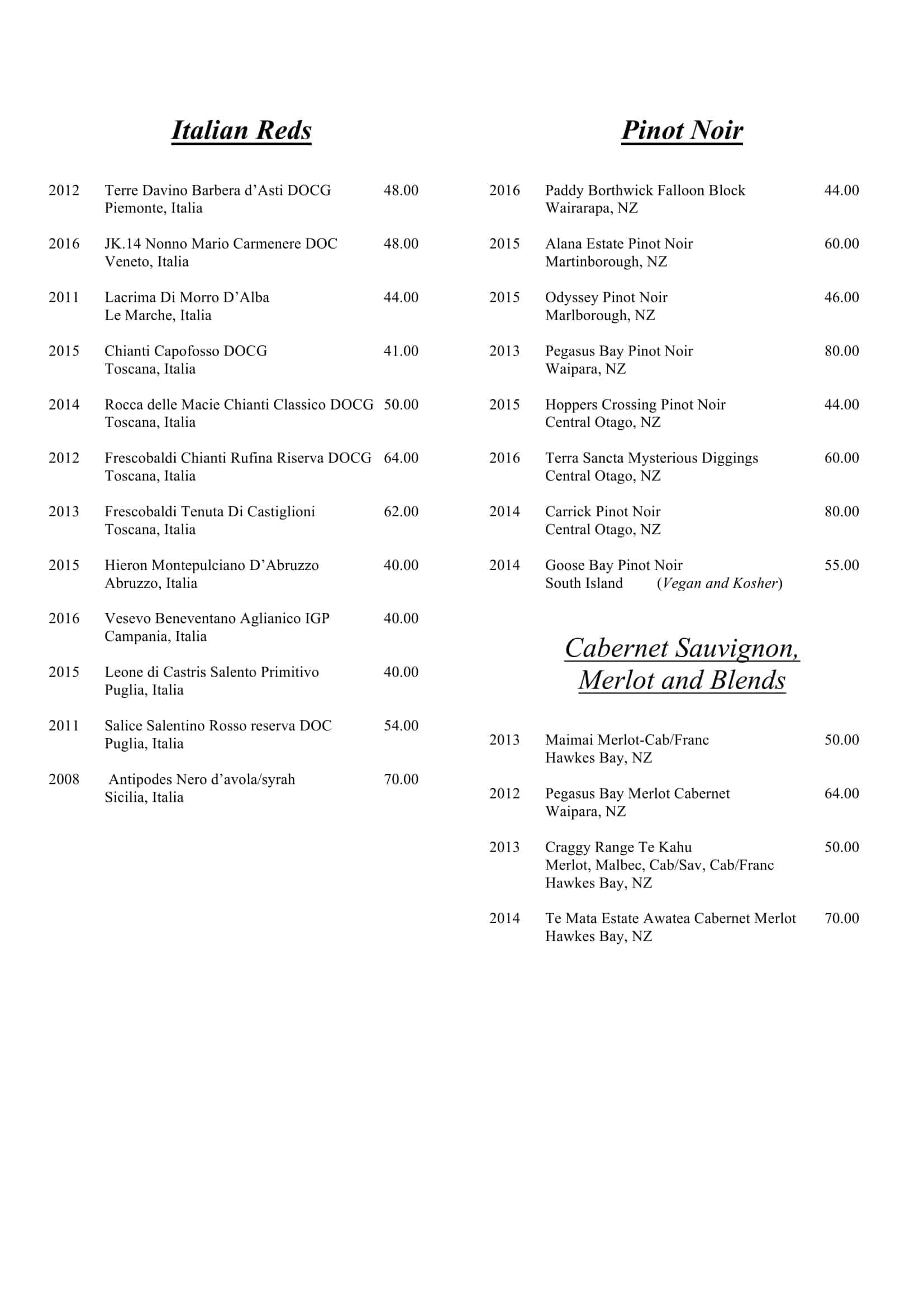 Wine List 2017-5